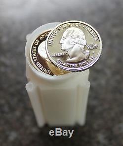 (40) 2006 S Nebraska Proof Silver State Quarters 1 Roll 90% Silver