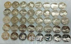 40 Coin Roll 90% Silver Statehood Quarters 40-Coin Roll Proof S Mint L290