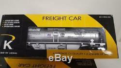 4 K-line Lionel State Quarter Tank Car Bank 6-21102,6-21103,6-21106,6-22262