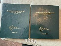 50 state quarter collection Intercept Albums Proof and Business Silver Proof too