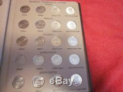 COMPLETE 1999 2008 STATE QUARTER SET All BU/PROOF/SILVER PROOF-2 Dansco Albums