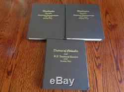 COMPLETE 1999 2009 STATE QUARTER SET All BU/PROOF/SILVER PROOF-3 Dansco Albums