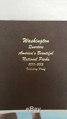 COMPLETE 2010-2015 AMERICAN NATIONAL PARKS QUARTERS Danso 8146 P, D, S and Silver