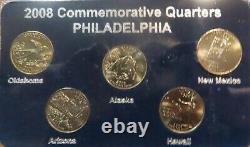 COMPLETE SET 41 set 1999-2008. P, D&S Gold edition U. S State Quarters 205 quarter
