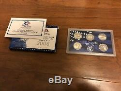 Coin Collection Lot Silver Eagles, Proof Sets, State Quarters