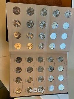 Complete Set Of 1999-2008 State Quarters 200 Proof Coin In Dansco Albums