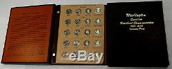 Complete State Quarter Set 1999-2008 All Bu/Proof/Silver Proof Two Dansco Albums