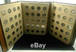 Dansco 1999 2008 State Quarters Complete Set D P S With Silver Proof K1