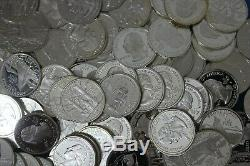 Emergency 90% Silver Junk Coins 25.00 Face Value Silver Proof State/ATB Quarters