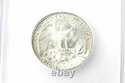 ICG 1940 S MS67 Mint State Washington 90% Silver Quarter (NUM2968)