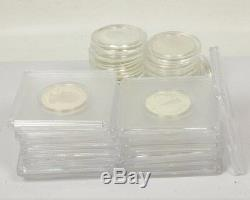Lot Of 34 US Mint Silver Proof State Quarters 2000-2009.25 Coins