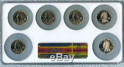 Ms68 Pr70 Proof Wisconsin Extra Leaf High Low NGC ms 68 coin error set 2004