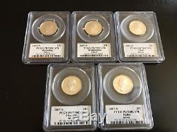 PCGS PR70 Complete Set Washington Statehood Quarters Silver Proof (1999-2008)