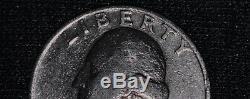 RARE 1967 UNITED STATES silver quarter (90% silver)