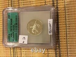 Rare 1999s Delaware State Quarter Icg Pf70