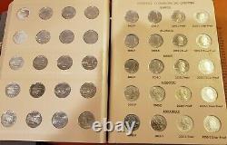 SET OF 100 WASHINGTON STATEHOOD QUARTERS 1999-2003 in DANSCO COIN HOLDER