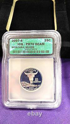 Silver 1999 State Quarter Set only Highest Investment Grade