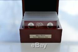 Silver 90% Proof State Quarters Sets U. S. States and Territories Collection Box