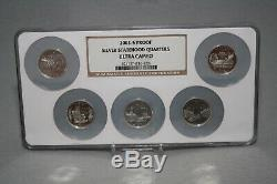 State Quarters Silver Proof Sets ALL YEARS 1999-2008 PF69 & PF70 Ultra Cameo