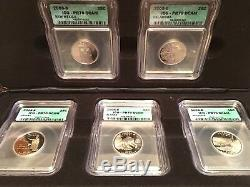 USA Silver ICG PR70 DCam 50 State Quarter Collection
