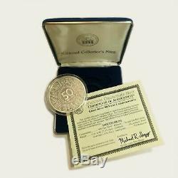 U. S. Statehood Quarter Commemorative 1/4 Pound. 999 Fine Silver