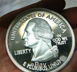 U. S. Statehood Quarter Commemorative 1/4 Pound. 999 Fine Silver #5137