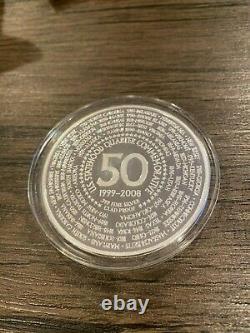 U. S. Statehood Quarter Commemorative 1/4 Pound. 999 Fine Silver, Capsule