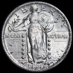 United States, America. Silver Quarter Dollar, 1919. Philadelphia Mint