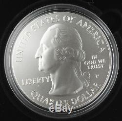 United States Silver Coin America The Beautiful 5 Oz 2011 Glacier, Mt (U. S Mint)