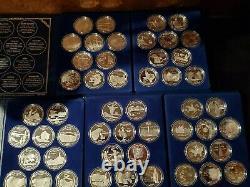 Very Rare Complete Set 50 State Quarter from Washington Mint 2oz EA 100oz Total