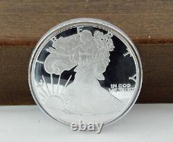 Washington Mint Golden State Quarter Giant Silver Eagle Set of Ten
