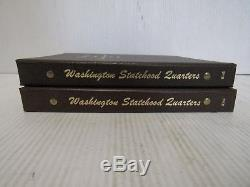 Washington Quarters Statehood Commemorative 1999-2008 PDS Books Silver quarters