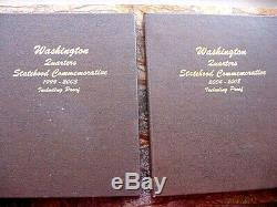 Washington Statehood Quarters Collection with all proofs and Silver 1999-2008